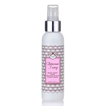 Buttercream Frosting Hydrating Body Mist with Organic Aloe & Willow Bark