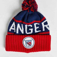 Mitchell & Ness NHL New York Rangers High-Five Cuff Beanie- Red One