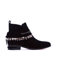 STAR JODHPUR ANKLE BOOT WITH REMOVABLE BRACELET