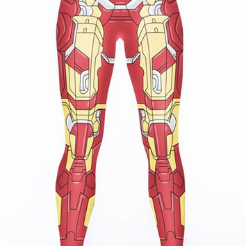 Iron Man Print Leggings