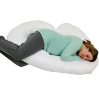 Pillowcase for J Shaped Pregnancy/ Maternity PIllow