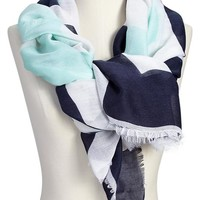 Women's City-Name Gauze Scarves