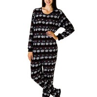 Rene Rofe Juniors Plush Onesuit Footie Pajamas