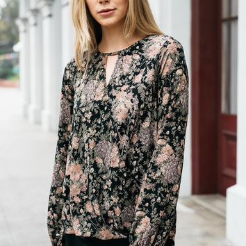 Ivy Leaves Cutout Top