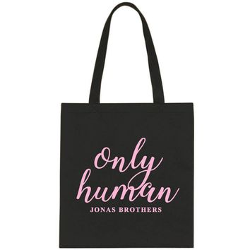 "Jonas Brothers ""Only Human"" Tote Bag"
