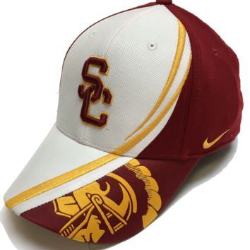 Nike USC Trojans Conference Red Zone Flex Fit Hat