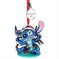 Stitch Sketchbook Ornament - Personalizable