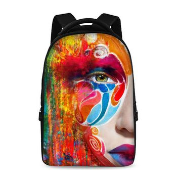 Crazy bags Backpacks For Teens Computer Bag Fashion School Bags For Primary Schoolbags Fashion  Backpack Best Book Bag Graffiti
