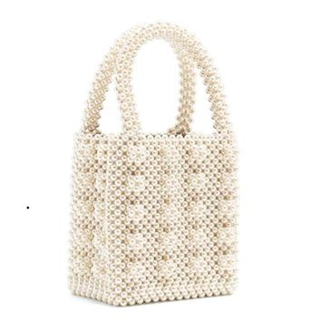 Pearl Boxed Handbag