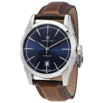 Hamilton Spirit of Liberty Blue Dial Automatic Mens Watch H42415541
