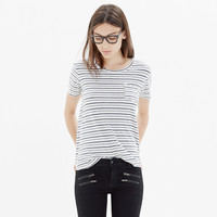 Jungmaven® Pocket Tee in Stripe