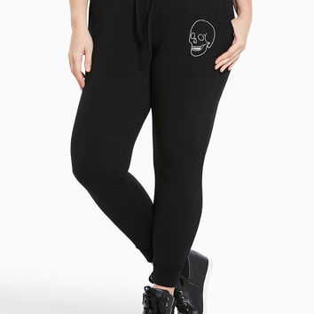 Torrid Active - Embroidered Skull Jogger Pants