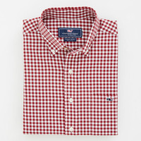 Roton Point Gingham Tucker Shirt