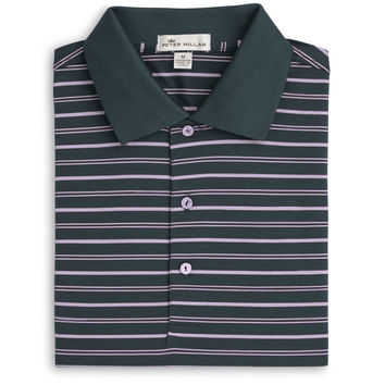 Pleasant Stripe Cotton Lisle Polo
