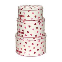 Emma Bridgewater Hearts Cake Tins - Enamel / Tinware from the gifted penguin UK