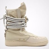 NEW IN BOX! MENS NIKE SPECIAL FIELD AIR FORCE 1 ONE SF AF1 HIGH BEIGE AA1128-200