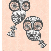 Little Owls Poster