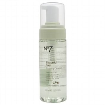 Boots No7Beautiful Skin Foaming Cleanser, Normal / Oily | Walgreens