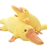 TOPJIN Soft Plush PP Stuffed Animals Platypus Toys Throw Pillow for Children Kids Gift 50cm/19.5inch