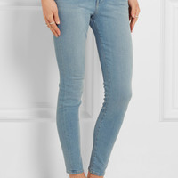 Frame - Mid-rise skinny jeans