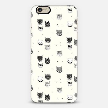 Yellow Cat Heads iPhone 6s case by Mai Ly Degnan | Casetify