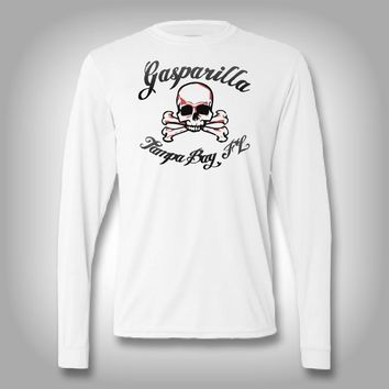 Gasparilla Skull - Performance Shirts - Fishing Shirt