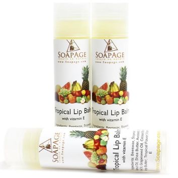 Tropical Shea Butter Lip Balm