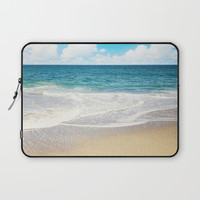 beach vibes Laptop Sleeve by sylviacookphotography