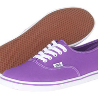 Vans Authentic™ Lo Pro (Neon) Electric Purple - Zappos.com Free Shipping BOTH Ways