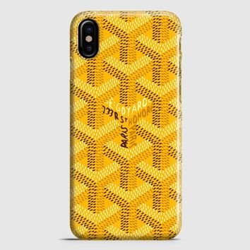 Goyard Destkop Wallpaper iPhone X Case