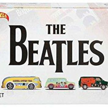 HOT WHEELS THE BEATLES 5 CAR PREMIUM SET