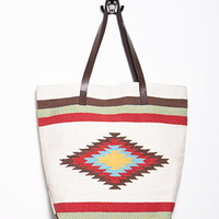Southwestern-Patterned Tote