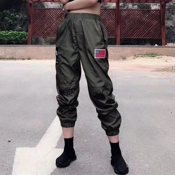 supreme x the north face 18ss unisex personality casual embroidery couple gore tex leisure pants sweatpants trousers