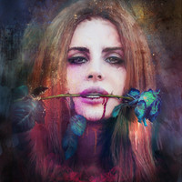 Lana Del Rey 2 Art Print by Turksworks