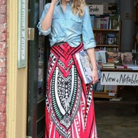 Capture The Moment Maxi Skirt