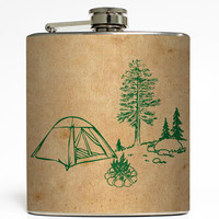 Campfire Tales - Camping Flask