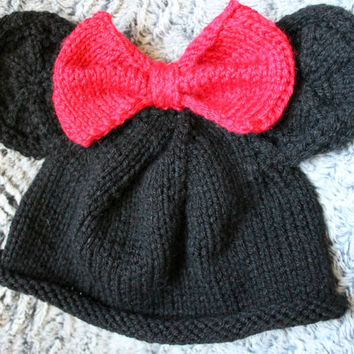 Minnie Mouse Character Inspired Hat