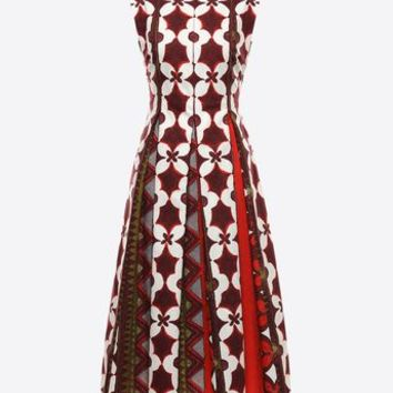 Valentino Printed Panama Cotton Dress, Dresses for Women - Valentino Online Boutique