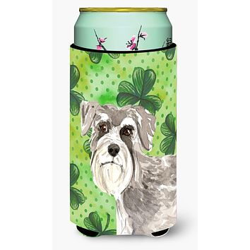Shamrocks Schnauzer #1 Tall Boy Beverage Insulator Hugger CK1792TBC