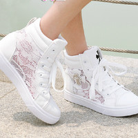Fashion lace summer Leisure canvas shoes 3054QX
