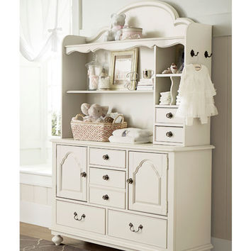 Bellissimo Door Dresser in Seashell White