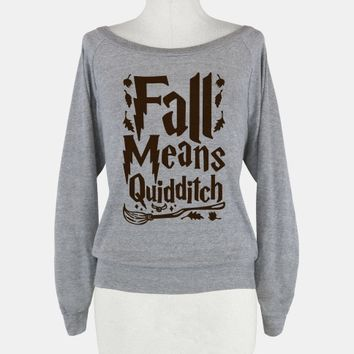 Fall Means Quidditch