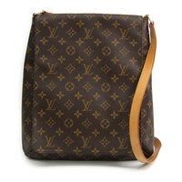 Louis Vuitton Monogram Musette M51256 Women's Shoulder Bag Monogram BF316892
