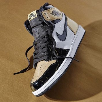 KUYOU AIR JORDAN 1 GOLD TOE