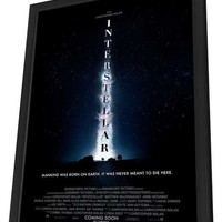 Interstellar 11x17 Framed Movie Poster (2014)