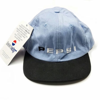 Pepsi Generation Next Dad Hat, Vintage Pastel Adjustable Cap