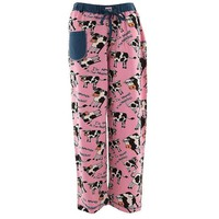 ONETOW Cow Moody In the Morning Women's Pajama Pants