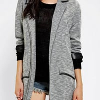 Silence + Noise Knit Cocoon Blazer