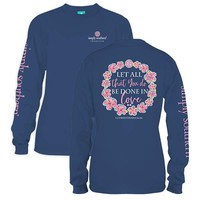 "Youth Simply Southern Long Sleeve - ""Let All"""