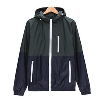 Trendy Brand Clothing Men Jacket Coat Male Jacket with Hood Quick Drying Windbreaker Outerwear Mens Jackets and Coats Men Clothes AT_94_13
